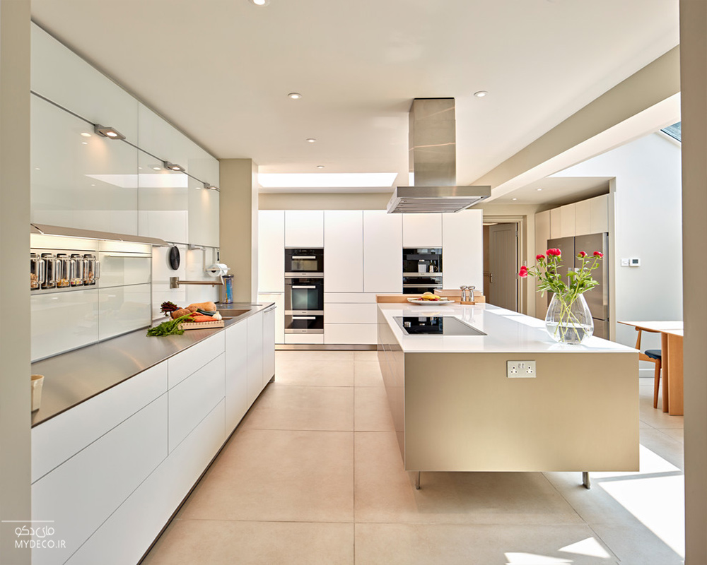 رنگ کابینت آشپزخانه مدرن