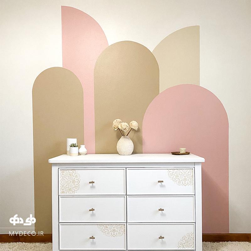 رنگ آمیزی دیوار خانه