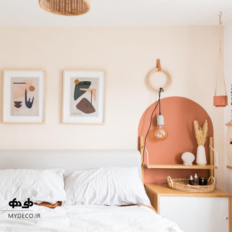 رنگ آمیزی جالب اتاق