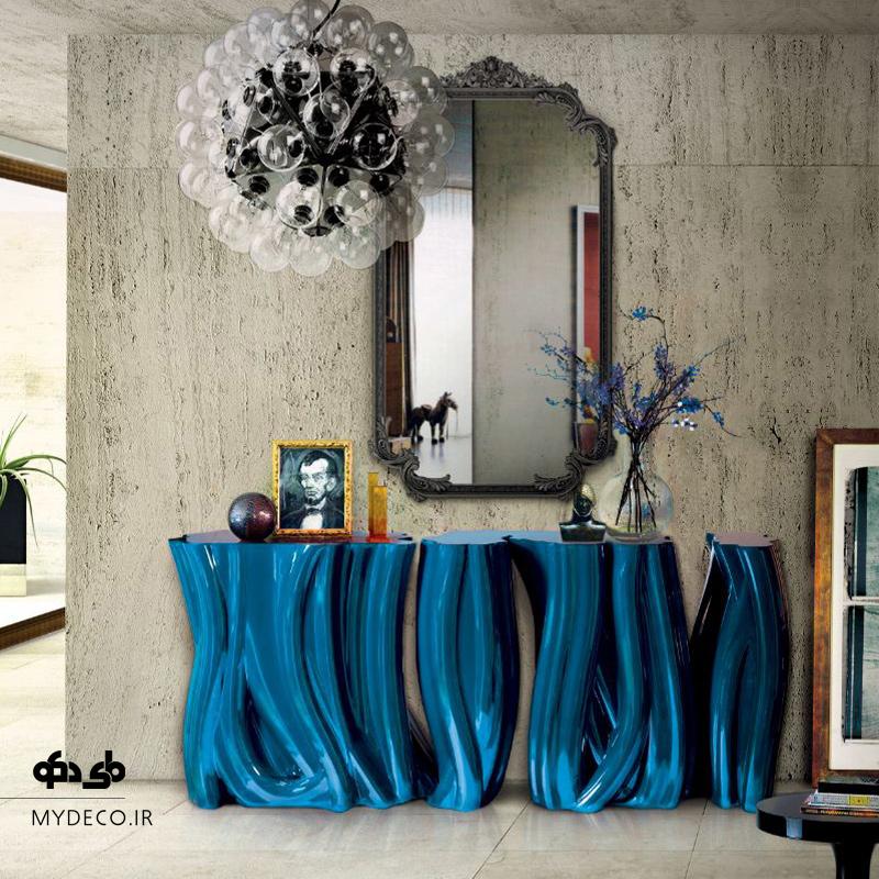ایده آینه و کنسول