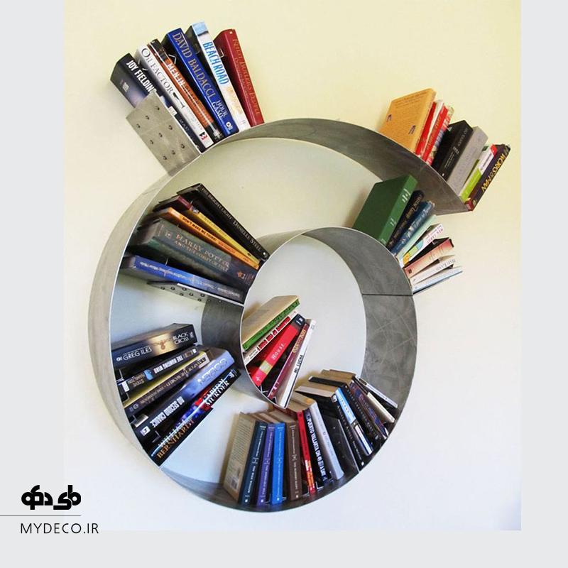 مدل جذاب کتابخانه