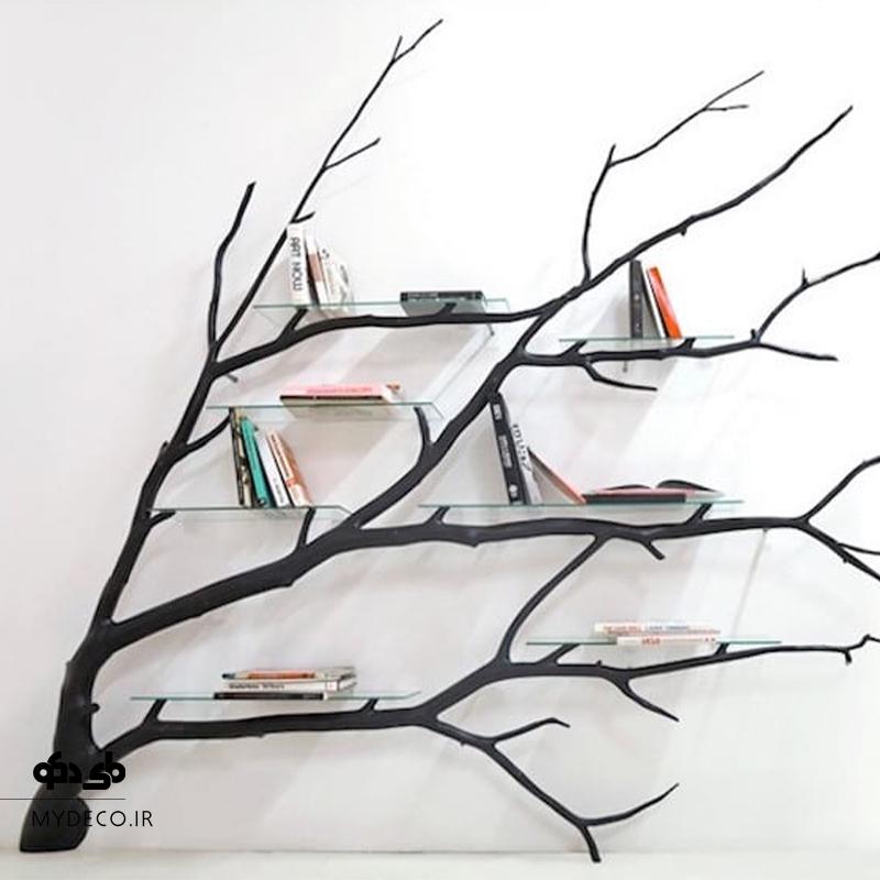مدل زیبا کتابخانه دایره ای