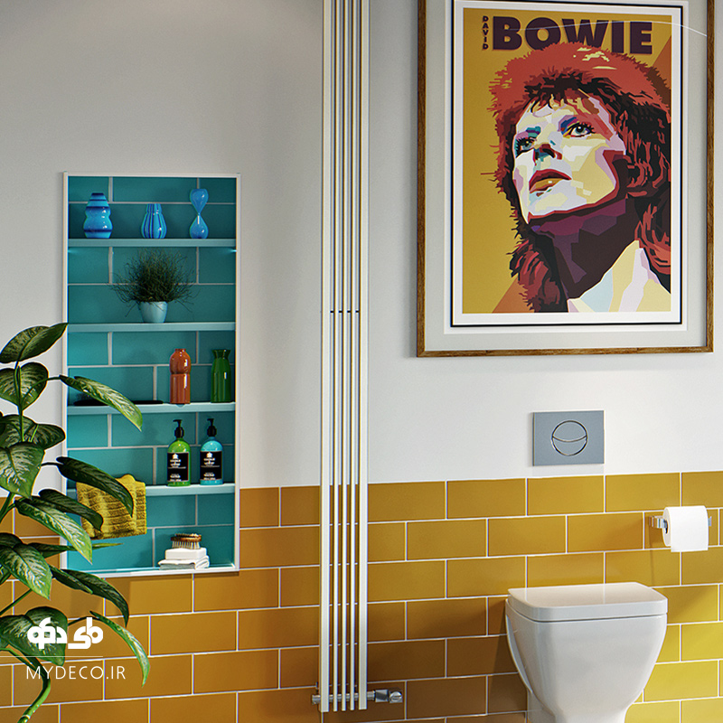 سرویس بهداشتی وحمام زرد