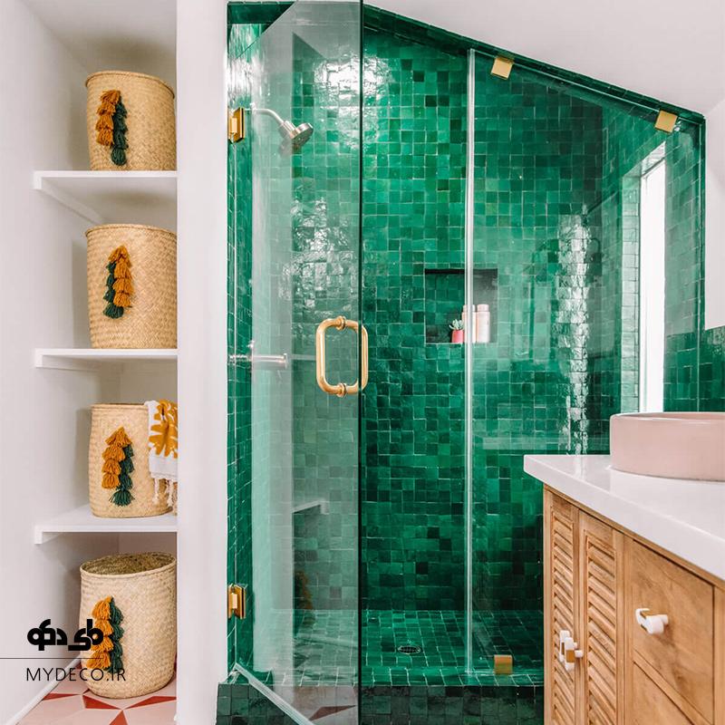 سرویس بهداشتی و حمام سبز