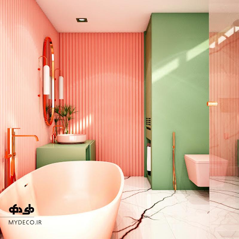 حمام رنگی