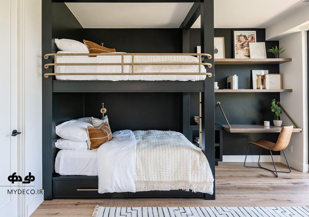 10 مدل تختخواب دو طبقه در اتاق خواب