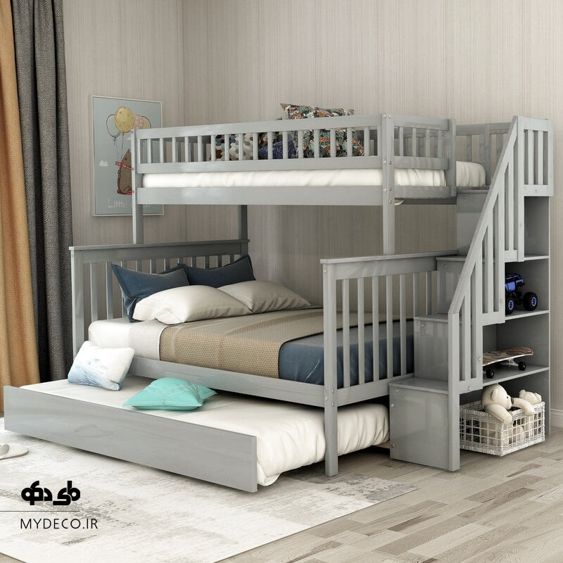 ایده تخت خواب دو طبقه