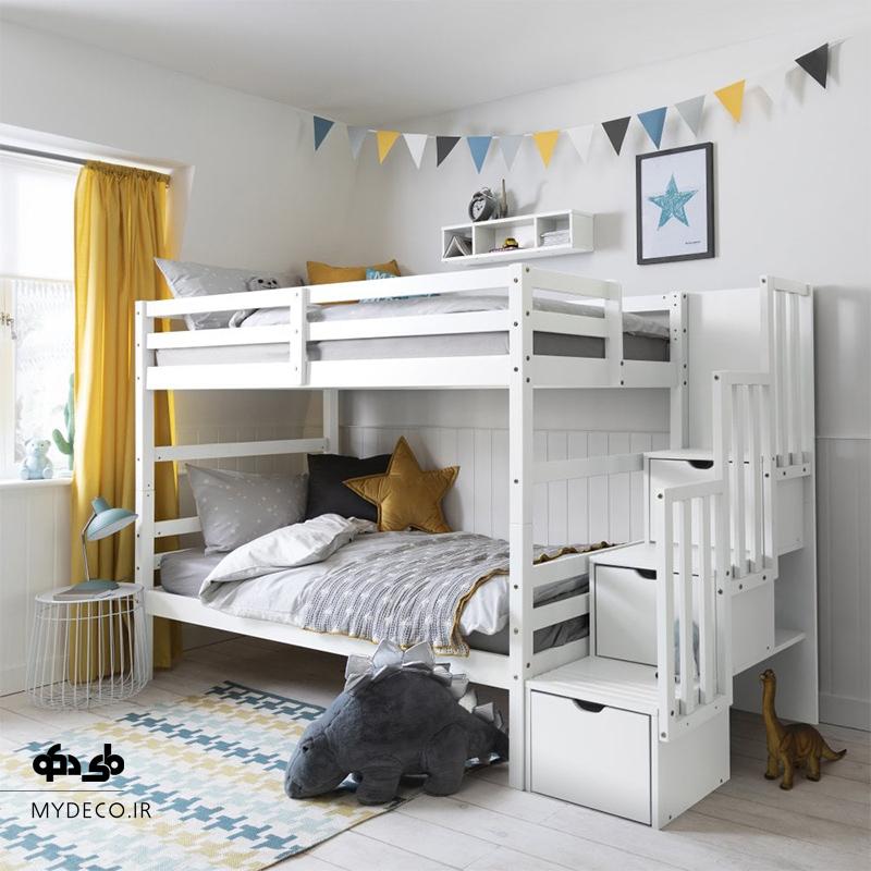 ایده تخت اتاق خواب مشترک فرزندان