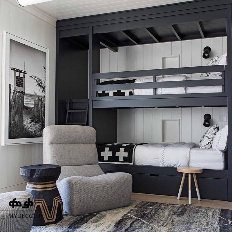 تخت دو طبقه پسرانه