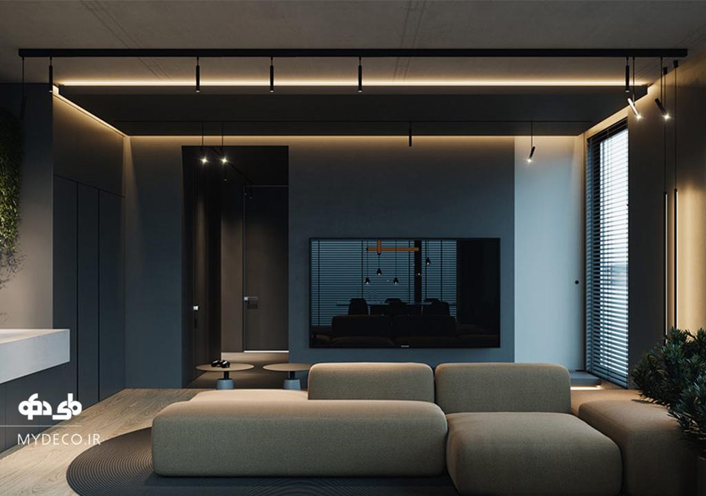 انواع نورپردازی در طراحی داخلی